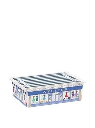 Kis Set Caja de Almacenamiento 6 Piezas C-Box Style L _ Boutiques Multicolor