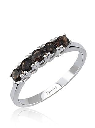 Divas Diamond Anillo DVS235880 (Plata)