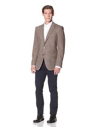 Joseph Abboud Men's Hudson Fit 2-Button Sportcoat (Brown)