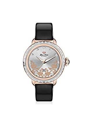 Glam Rock Women's GR77005DS1 Bal Harbour Black/Silver Genuine Leather Watch
