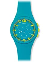 Swatch Analog Blue Dial Unisex Watch - SUSL400