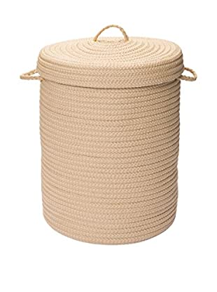 Colonial Mills Simply Home Covered Storage Hamper, Lambswool