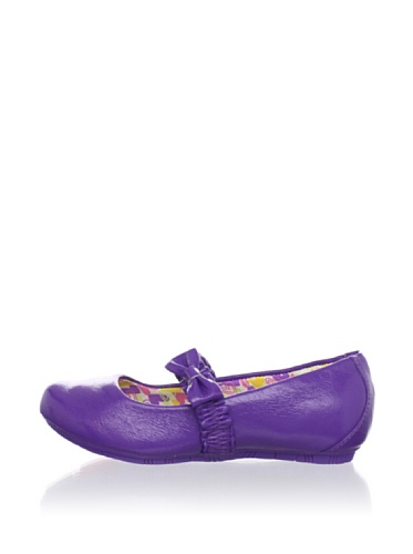 Pampili Kid's Twist Dance Ballet Flat with Bow (Violeta)