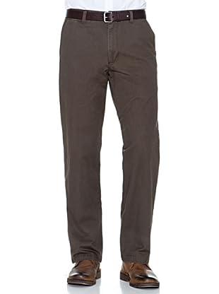 Dockers Pantalón Comfort De Algodón (Marrón)