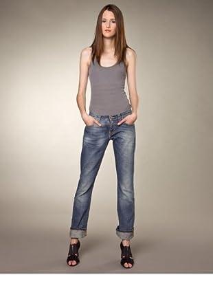 Nudie Jeans Jeans Narrow Boot Tight Used Slim (Blau)