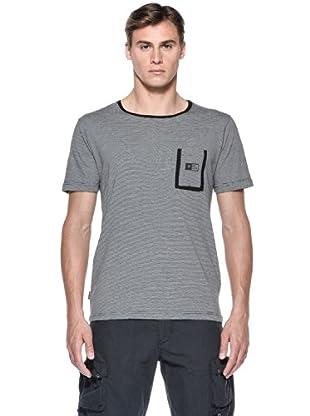Rip Curl T-Shirt Aggrolite Stripe S/S Tee (Nero)