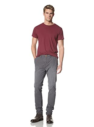 Scotch & Soda Men's Gainsbourg Relaxed Slim Fit Chino Pants (Navy Stripe)