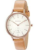 Skagen Anita Analog White Dial Women's Watch - SKW2405