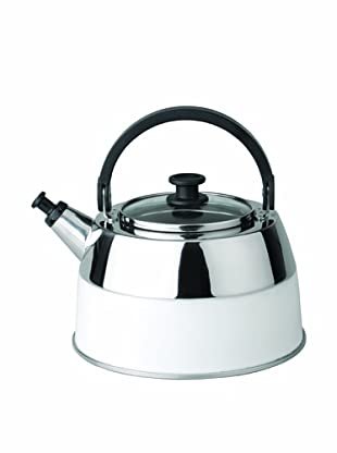 BergHOFF Virgo 2.6-Qt. White Tea Kettle