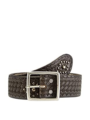 7 For All Mankind Cinturón Piel Studded
