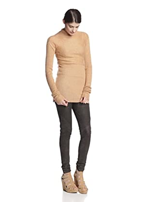 Rick Owens Women's Sweater with Ribbing (Pumpkin)