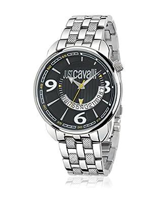 Just Cavalli Reloj de cuarzo Man Earth Acero 52x45 mm