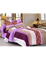 SAI ARPAN ATTRACTIVE DOUBLE BED SHEET WITH PILLOW COVERS 1154