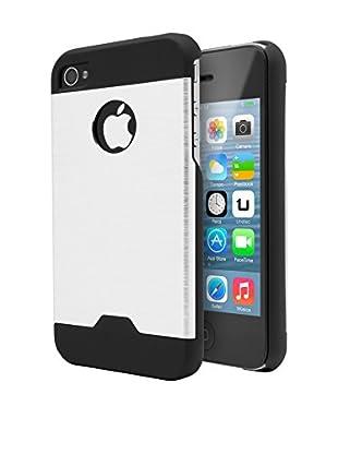 Unotec Hülle Metall iPhone 4/4S grau