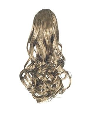 Love Hair Extensions Gushy Bird Crocodile Clip Synthetic Hair Ponytail Colour 10 Medium Ash Brown 14 -Inch