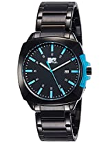 MTV Analog Black Dial Men's Watch - B7021BL