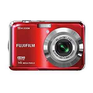 Fujifilm FinePix AX500 Digital Camera-Red