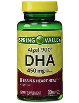Spring Valley - ALGAL-900, DHA 450 mg, 30 Softgels