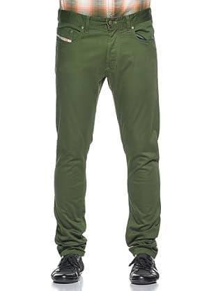 Diesel Pantalones Tepphara (Verde)