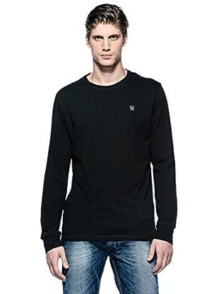 Diesel Camiseta Manga Larga T-Aldebarano-S (Negro)