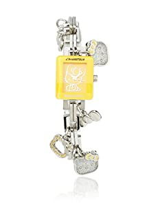 Hello Kitty Silver/Orange Stainless Steel Watch