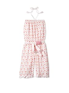 4EverPrincess Girl's Leo Overall (Pink)