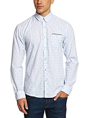 Selected Homme Camisa Hombre Coosa (Azul)