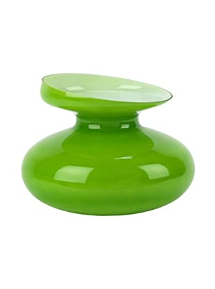 Lob Design Opalglasvase Mini Ikebana apfelgrün