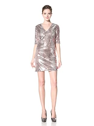 Donna Morgan Women's Samantha Sequined Sheath Dress (Copper/Multi)