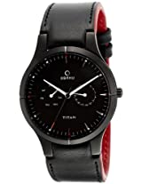 Titan Obaku Analog Black Dial Men's Watch - 9303NL01