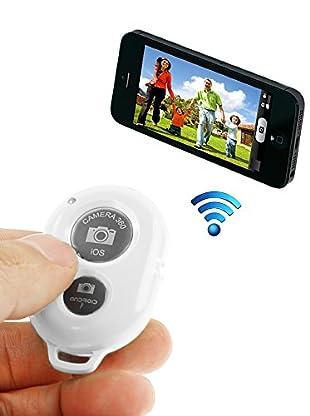 Unotec Disparador De Fotos Bluetooth Blanco