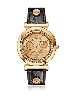 Versace Uhr mit schweizer Quarzuhrwerk Vanity VA9050013 schwarz 41 mm
