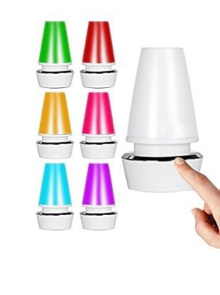 Lo+Demoda Tischlampe USB Touch weiß
