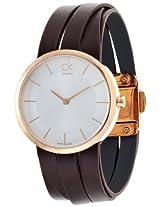 Calvin Klein Silver Dial Women's Watch - K2R2M6G6