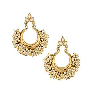 Voylla  gold-plated Dangle & Drop Earring For Women