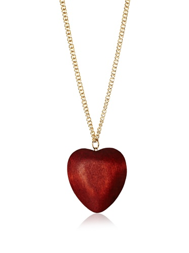 Jules Smith Large Natures Heart Necklace