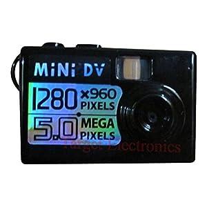Winait 5MP Mini 5mp Worlds Smallest Hd Digital Video Camera Spy Camera Video Recorder Hidden Cam DV DVR with 1280 X 960 Resolution