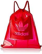 adidas Fabric 15.7 Lts Red Gym Bag (4056559614782)