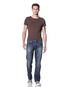 Dylan George Men's Dean Straight Leg Jeans (Brakel Blue)