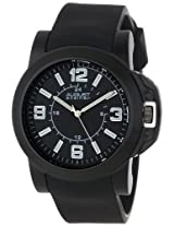 August Steiner Men's AS8057BK Quartz Sport Silicone Strap Watch