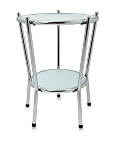 Adesso Cosmopolitan End Table, Steel