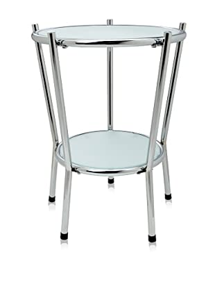Adesso Cosmopolitan End Table, Steel