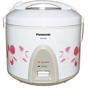 Panasonic SR KA 18A-HO Electric Cooker-White