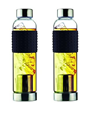AdNArt Set of 2 Iced T's To-Go (Black)