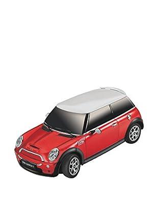 Juguete Radiocontrol Mini Cooper 2/S 1:18 Rojo
