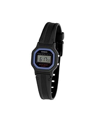 CASIO 19241 LA-11WB-1W - Reloj Infantil Unisex correa caucho negra