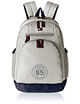 Tommy Hilfiger Biker Club - Daffodil 25 ltrs Grey Casual Backpack (TH/BIKOL07DAF)