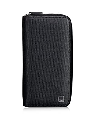 TUMI Monaco Large Zip-Around Travel Wallet, Black