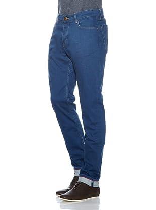 Cross Jeans Pantalón Vaquero Quentin (Azul Índigo)