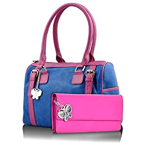 Butterflies Combo Handbag (Multi-Color) (BNS CB020)